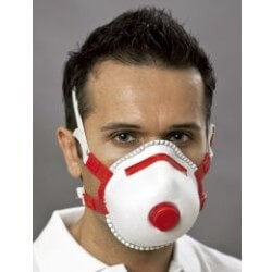 Ekastu Sekur FFP3 Ventilli Toz Maskesi